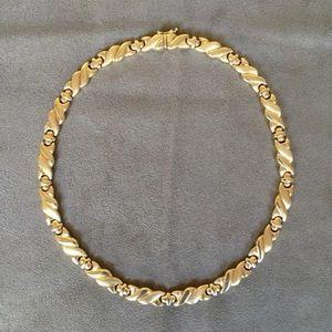 "Jewelry - NEW Solid 14k HEAVY 34 Gram Choker Necklace 17"""